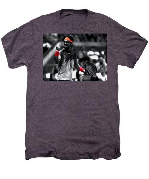 Fabio Fognini Men's Premium T-Shirt by Brian Reaves