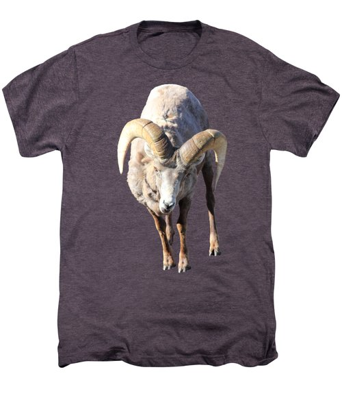 Head-on Men's Premium T-Shirt by Shane Bechler