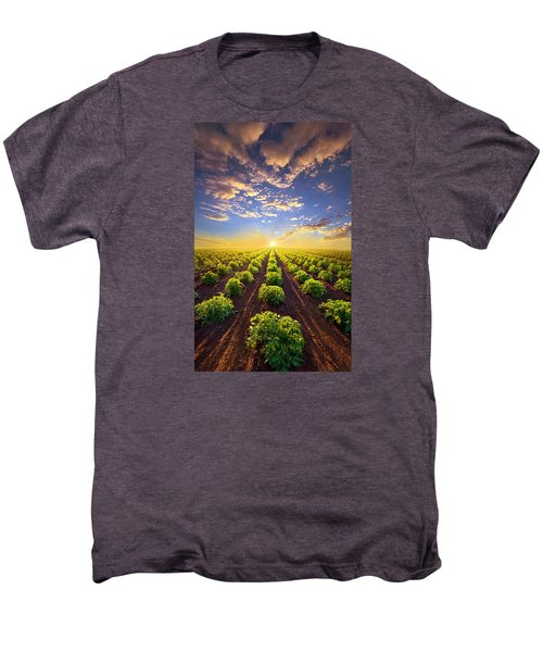 Into The Future Men's Premium T-Shirt by Phil Koch