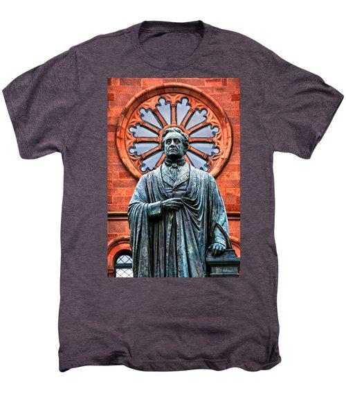 James Smithson Men's Premium T-Shirt by Christopher Holmes