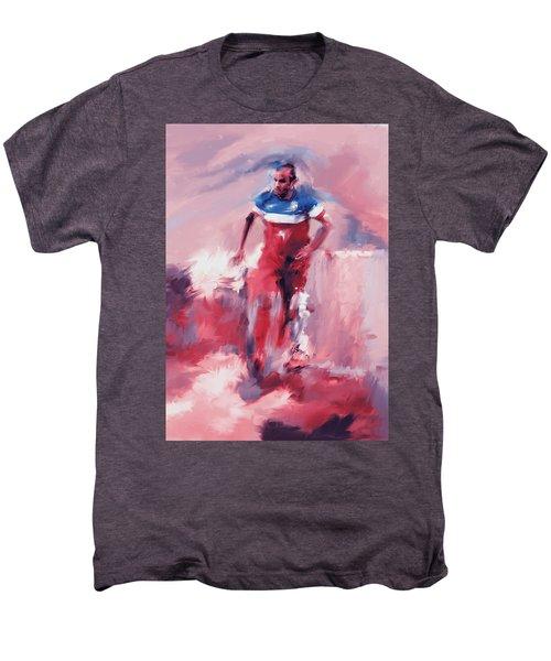 Landon Donovan 545 2 Men's Premium T-Shirt by Mawra Tahreem
