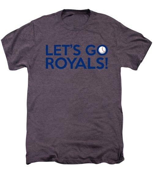 Let's Go Royals Men's Premium T-Shirt by Florian Rodarte