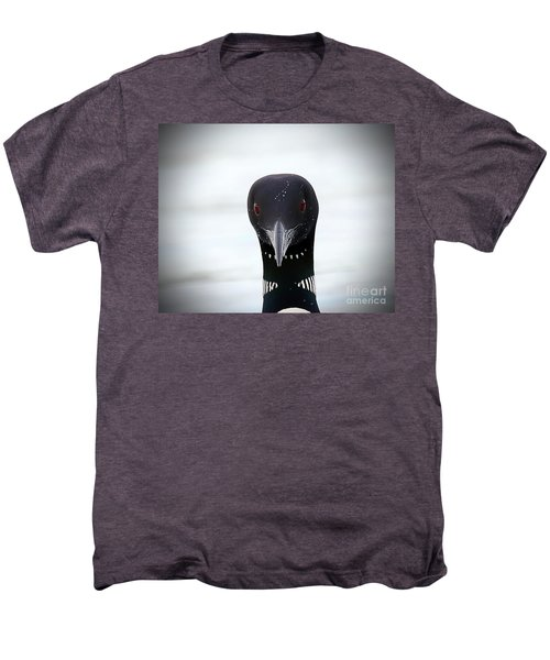 Loon Stare Men's Premium T-Shirt by Peter Gray