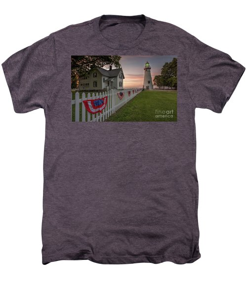 Marblehead Memorial  Men's Premium T-Shirt by James Dean
