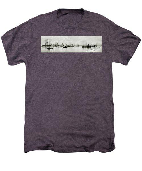 Miami, Florida Circa 1925  Men's Premium T-Shirt by Jon Neidert