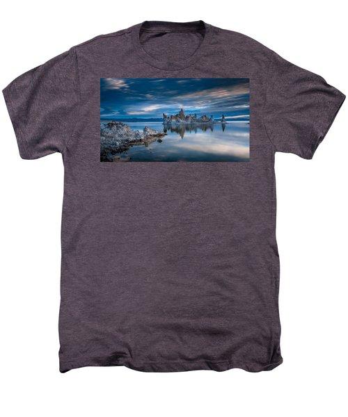 Mono Lake Tufas Men's Premium T-Shirt by Ralph Vazquez