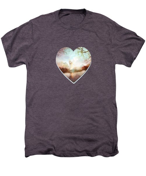 Porcelain Skies Men's Premium T-Shirt by Valerie Anne Kelly