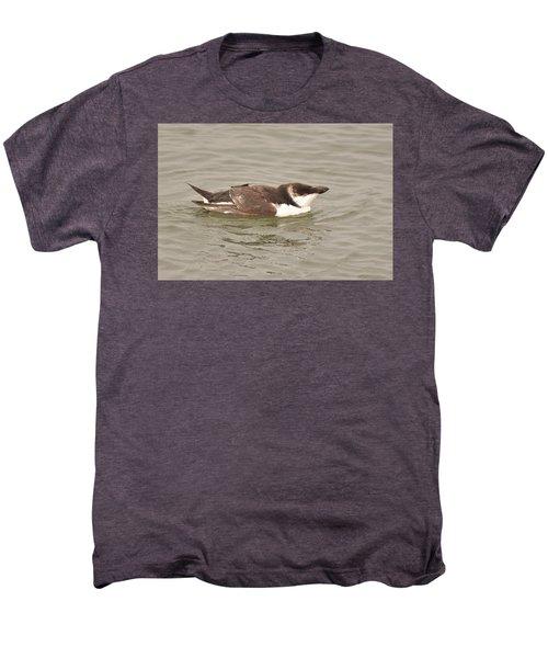 Razorbill Men's Premium T-Shirt by Alan Lenk