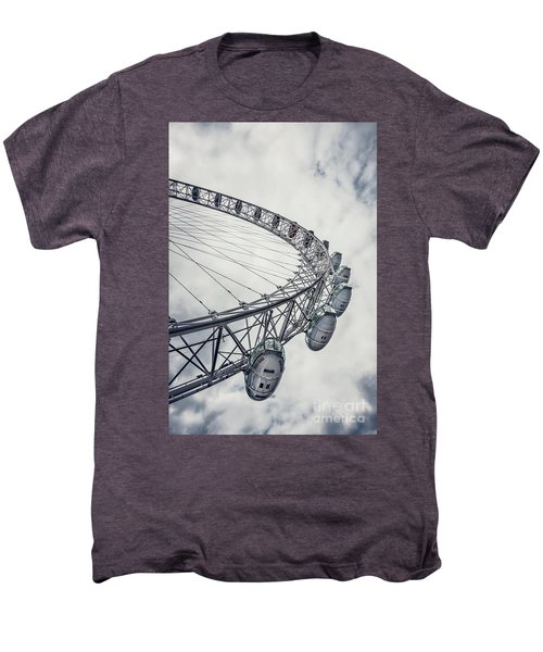 Spin Me Around Men's Premium T-Shirt by Evelina Kremsdorf