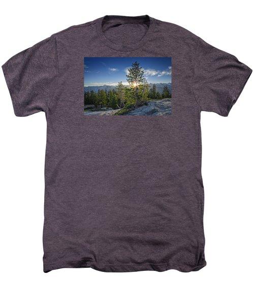 Sunrise On Sentinel Dome Men's Premium T-Shirt by Rick Berk