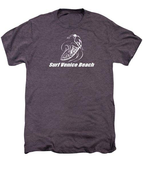 Surf Venice Beach Men's Premium T-Shirt by Brian Edward