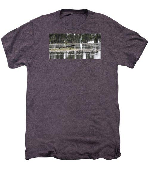 The Announcer  Men's Premium T-Shirt by Betsy Knapp