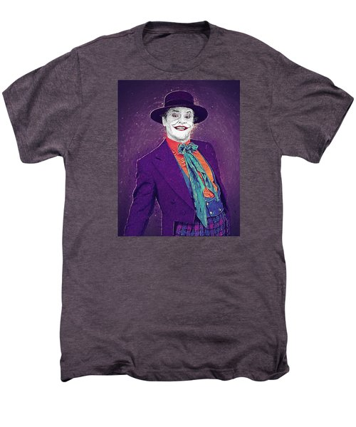 The Joker Men's Premium T-Shirt by Taylan Apukovska