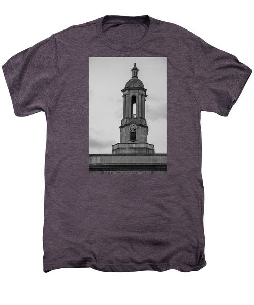 Tower At Old Main Penn State Men's Premium T-Shirt by John McGraw