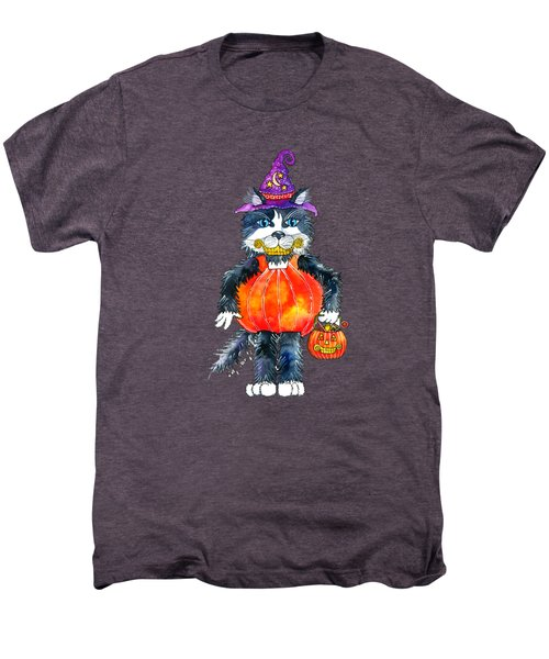 Trick Or Treat Men's Premium T-Shirt by Shelley Wallace Ylst