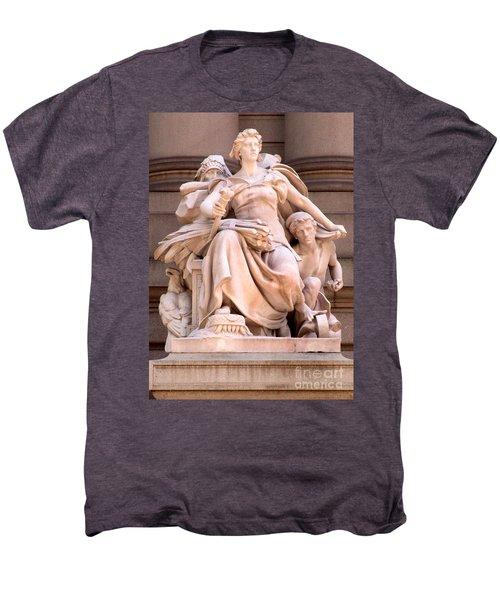 U S Custom House 4 Men's Premium T-Shirt by Randall Weidner