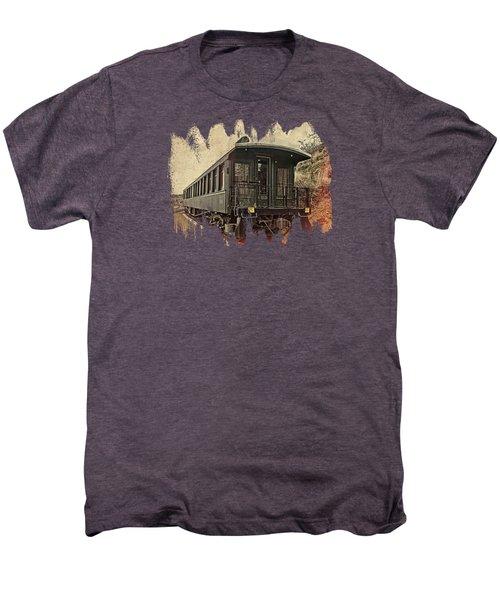 Virginia City Pullman Men's Premium T-Shirt by Thom Zehrfeld