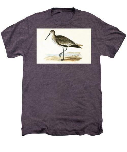 Willet Men's Premium T-Shirt by English School