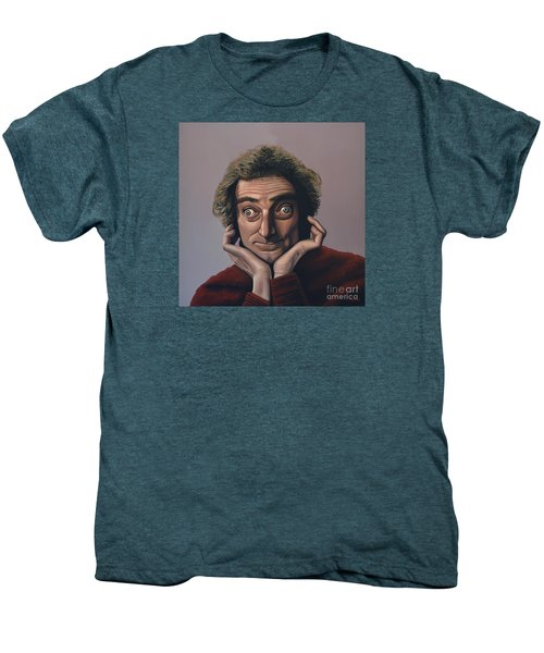 Marty Feldman Men's Premium T-Shirt by Paul Meijering