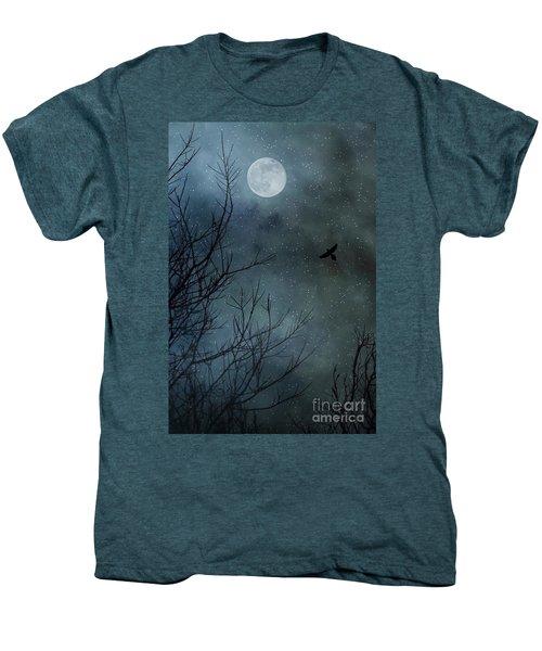 Winter's Silence Men's Premium T-Shirt by Trish Mistric
