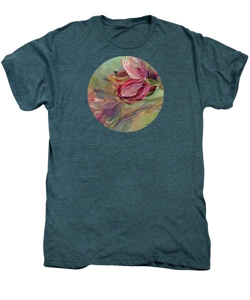 Flower Blossoms Men's Premium T-Shirt by Mary Wolf