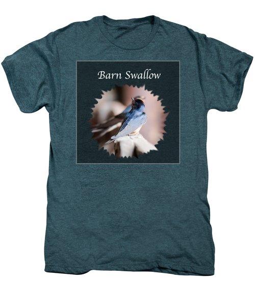 Barn Swallow Men's Premium T-Shirt by Jan M Holden