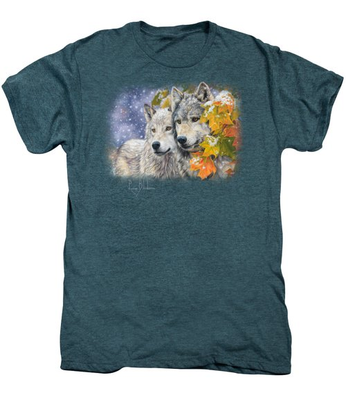 Early Snowfall Men's Premium T-Shirt by Lucie Bilodeau
