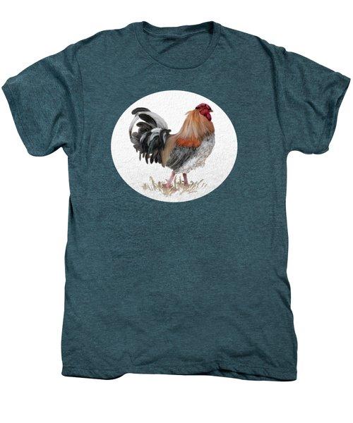 Barnyard Boss Men's Premium T-Shirt by Lois Bryan