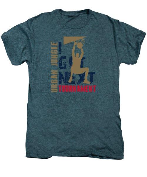 Basketball I Got Next 4 Men's Premium T-Shirt by Joe Hamilton