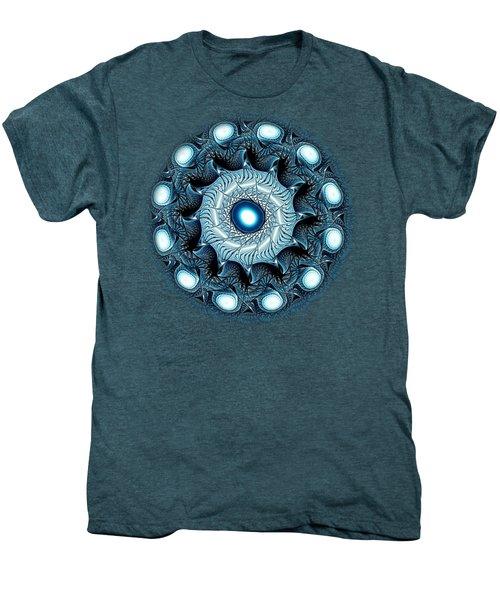 Blue Circle Men's Premium T-Shirt by Anastasiya Malakhova