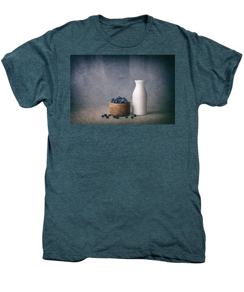 Blueberries And Cream Men's Premium T-Shirt by Tom Mc Nemar