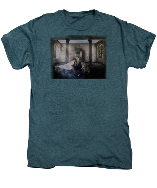 Bluebonnet Hall Men's Premium T-Shirt by Terry Fleckney