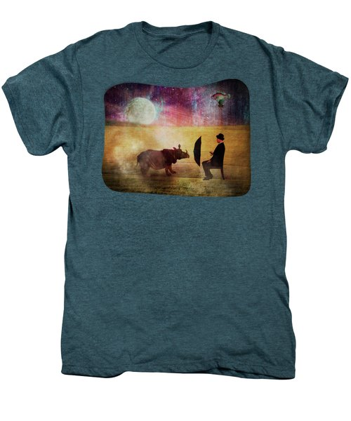By The Light Of The Moon Men's Premium T-Shirt by Terry Fleckney