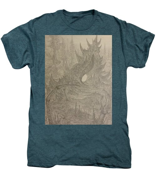 Coastal Castle Men's Premium T-Shirt by Corbin Cox