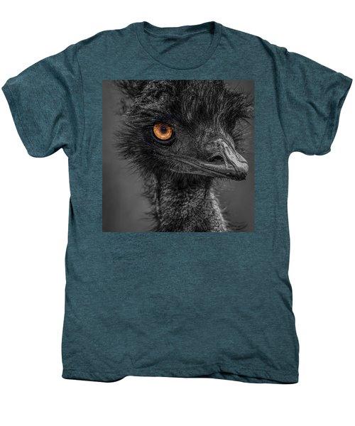 Emu Men's Premium T-Shirt by Paul Freidlund