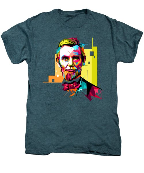 Lincoln Men's Premium T-Shirt by Iffa Baskaragris