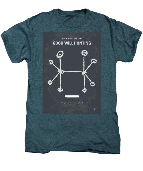 No461 My Good Will Hunting Minimal Movie Poster Men's Premium T-Shirt by Chungkong Art