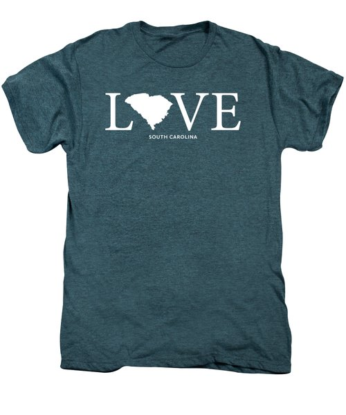 Sc Love Men's Premium T-Shirt by Nancy Ingersoll