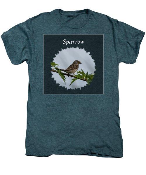Sparrow   Men's Premium T-Shirt by Jan M Holden