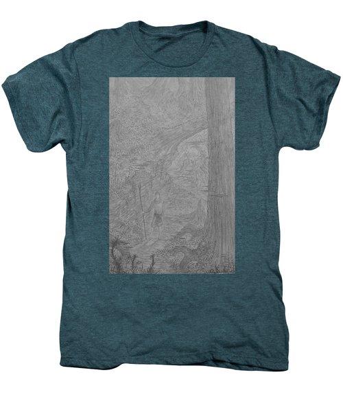 Wayward Wizard Men's Premium T-Shirt by Corbin Cox