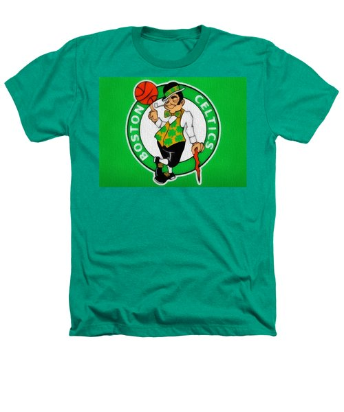 Boston Celtics Canvas Heathers T-Shirt by Dan Sproul