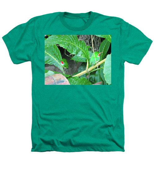 Jamaican Toadies Heathers T-Shirt by Carey Chen