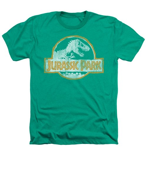 Jurassic Park - Jp Orange Heathers T-Shirt by Brand A