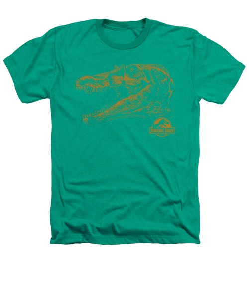 Jurassic Park - Spino Mount Heathers T-Shirt by Brand A