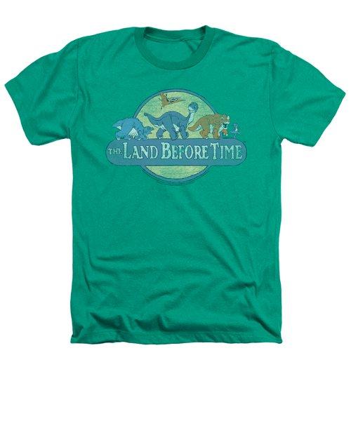 Land Before Time - Retro Logo Heathers T-Shirt by Brand A