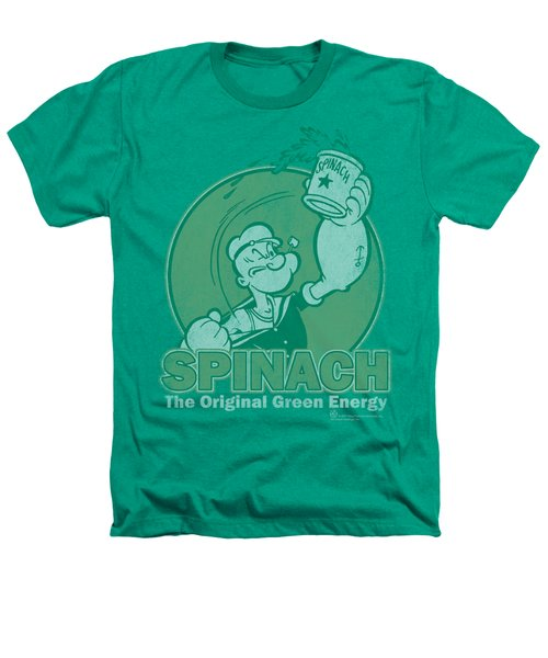 Popeye - Green Energy Heathers T-Shirt by Brand A