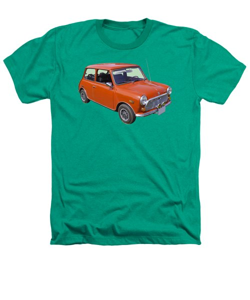 Red Mini Cooper Heathers T-Shirt by Keith Webber Jr