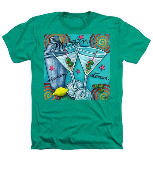 Retro Martini Heathers T-Shirt by Lisa  Lorenz