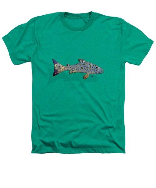 Sea Trout Heathers T-Shirt by Mikael Jenei