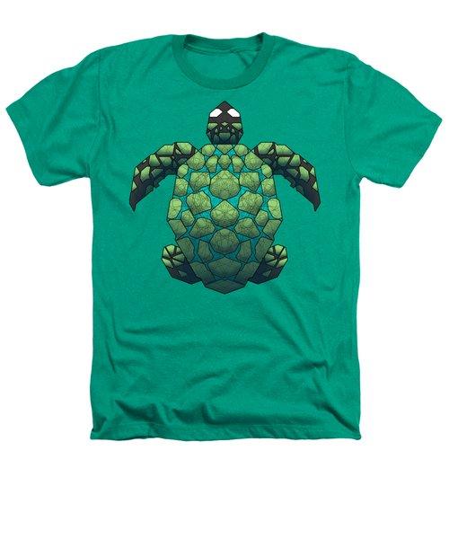 Sea Turtle Heathers T-Shirt by Dusty Conley